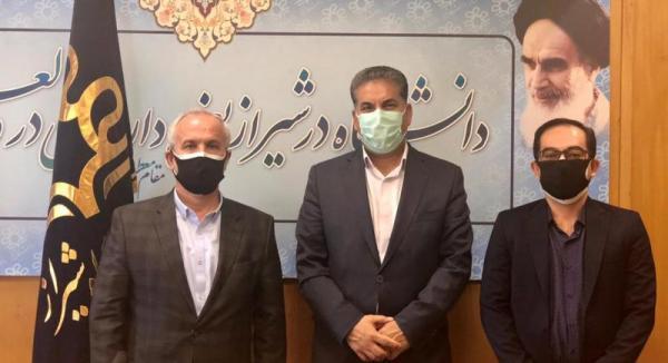 رونمایی از دو طرح دانشگاه شیراز در حوزه ارتباط جامعه و صنعت خبرنگاران